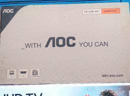 vendo tv de 40 pulgadas AOC nueva con garantia