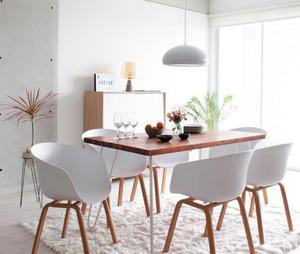 Mesa de comedor gropius White Solo mesa