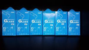 Micas de vidrio templado para Modelos Iphone: 5,6,7 Samsung