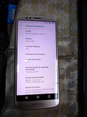 . Moto G6 Play Imei Original Dorado Ocas