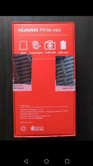 P9 Lite Mini Nuevo en Caja con Accesorio