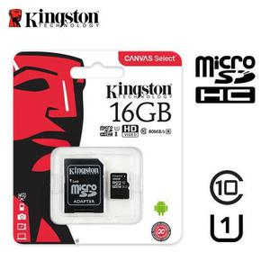 microSDHC Kingston Canvas Select 16 GB Class 10