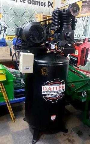 Compresora De Aire 175 Psi 120 Galones 7.5hp Daitek