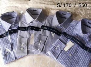 Camisas y correas para hombre MK, CK, TH y Dockers