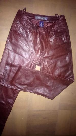 Pantalon Gap Cuero Genuino para Chica