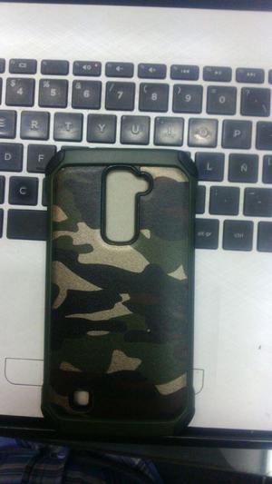 Case Protector Camuflado Ranger Para Lg K4