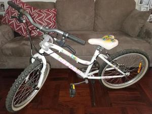 Bicicleta para Niña, Aro 20, Poco Uso