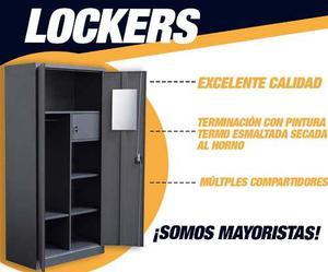 Armarios, Lockers De Metal-calidad Y Garantia