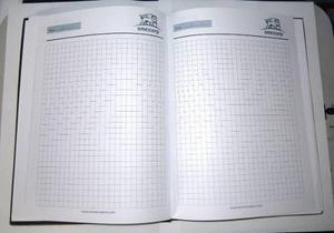 Cuaderno 15x21cm 100 Hojas Bond 75gr Rayado Cosido Bio Cuero