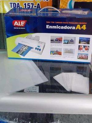 Enmicadora A4 Ale - 100 Micas Carnet + 50 Micas A4