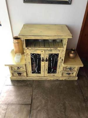 Mueble De Madera De Cedro