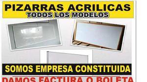 Pizarras Acrilicas Lima