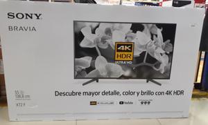 Tv Sony Bravia de 55uhd 4k Smart X72f