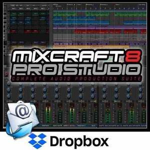 Acoustica Mixcraft Pro 8 - Software De Producción Musical