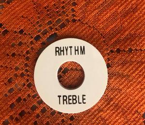 Gibson Toggle Switch Plate Rhythm / Treble