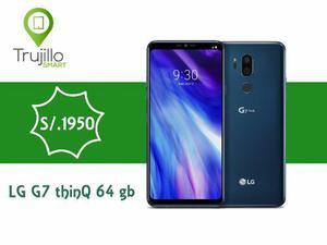Lg G7 Thinq 64 Gb Azul