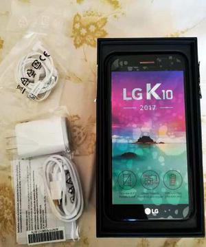 Lg K10 2017 Nuevo S/500, Con Todos Sus Accesorios En Caja.