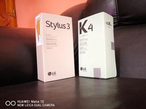 Lg Stylus 3 Gratis Lg K4 Titan Y Regalito (!)