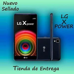Lg X Power 100% Nuevo, 16gb Mem. 2gb Ram Somos Tienda