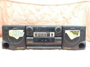 Vintage Radio 2 Cassettes Sony Tokyo Japon Nuevo Oferta Hf