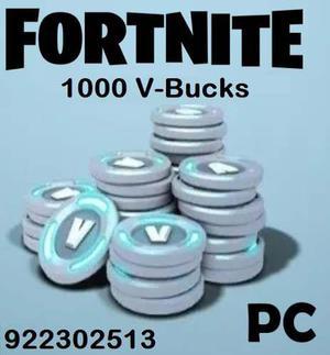 Fortnite 1000 Pavos - Pc