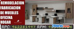 Muebles de oficina Lima, modernos, baratos, precios