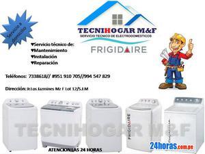 Servicio técnico de lavadoras FRIGIDAIRE 7338618 reparacion