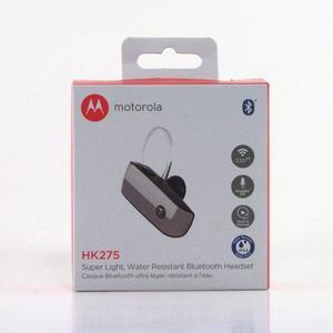 Audífono Motorola Hk275 Bluetooth Resiste Agua Y Sudor