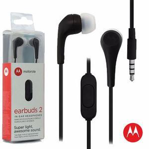 Audífonos Earbuds 2 Motorola Handsfree Originales
