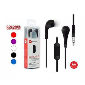 Audífonos Motorola Earbuds 2 Original - Por Mayor