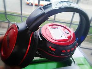 Audifono Bluetooth Handsfree Radio Lector Sd Delivery Gratis