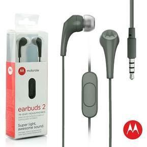 Audifono Handsfree Original Motorola Earbuds 2 Color Oferta