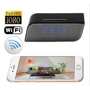 Camara Espia Ip Wifi Despertador Full Hd