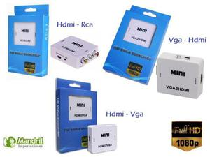 Convertidor De Audio Video Hdmi Vga USB 3.1 Tipo C