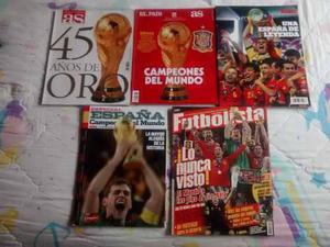 Especiales Del Titulo De España En El Mundial Sudáfrica