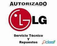 LG TÉCNICO AUTORIZADO MANTENIMIENTO Y REPARACIÓN DE