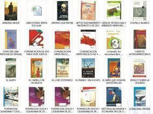 LIBROS PLAN LECTOR Y LIBROS DE SECUNDARIA