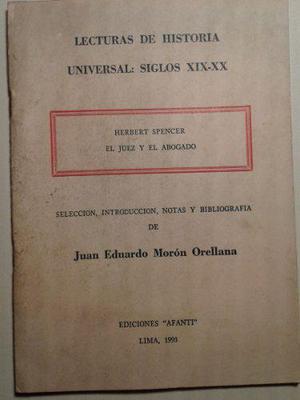 Lecturas De Historia Universal Herbert Spencer