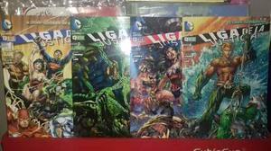 Liga De La Justicia. El Nuevo Universo Dc. Ecc X6 Tomos