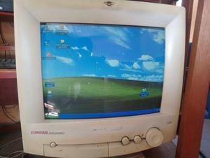 Monitor Crt De 14 Pulgadas Compaq Resolucion 1024x768