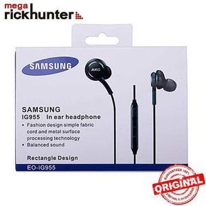 Original Audifonos Handsfree Samsung Akg Eo-ig955 Caja Negro