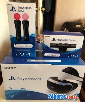 PlayStation PS4 VR Bundle inc última V2 cámara y 2 Mover
