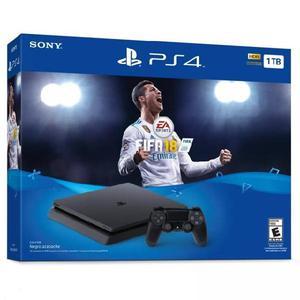 Playstation 4 Slim de 1 Tera con Fifa 18