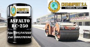 VENTA DE ASFALTO LIQUIDO RC 250 MC 30 EN CILINDRO