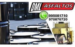 VENTA DE EMULSION ASFALTICA AL MEJOR PRECIO DML 995081710