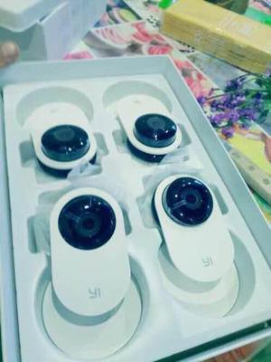 Yi Home Camera Ip 720p Pack Cámara De Seguridad Casa Bebé