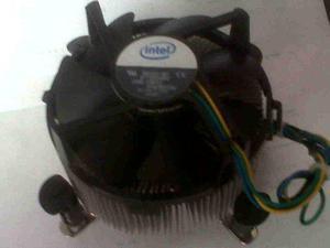 Cooler Intel Socket 775 Núcleo De Cobre Pesado Para