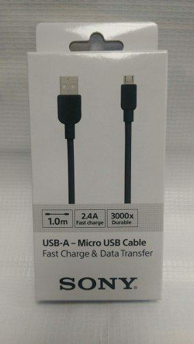 Cable Micro Usb Sony Original Para Android Smarphone