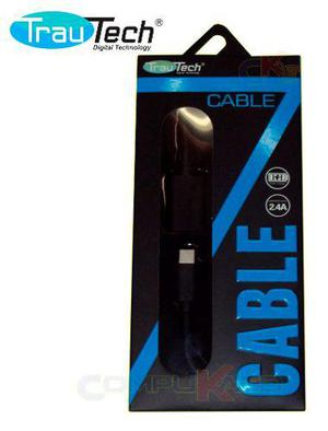 Cable Otg Usb Tipo C A Usb Hembra Trautech Celulares Tablet
