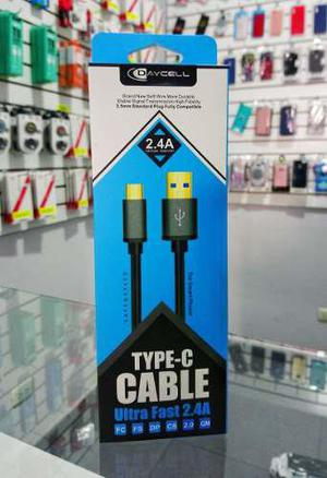 Cable Tipo C 1,5m Carga Rápida Daycell